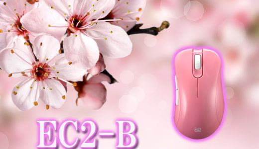 EC2-B ピンクを買いました。【ZOWIE EC2-B DIVINA pink】