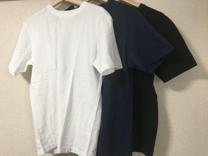 ユニクロで買えるおすすめの厚手Tシャツ。ユニクロユークルーネックTを紹介!